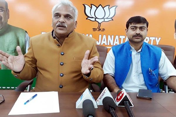 bjp s counter attack after azad s statement on kashmir said  mental bankruptcy