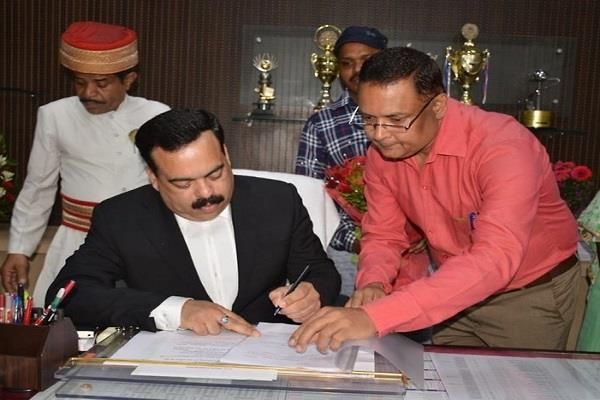shashank shekhar appointed new advocate general mp
