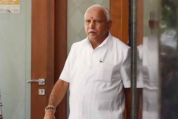 karnataka by election cm yeddyurappa meets home minister amit shah