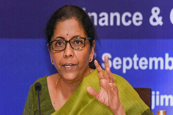 ministry should pay small industries soon sitharaman