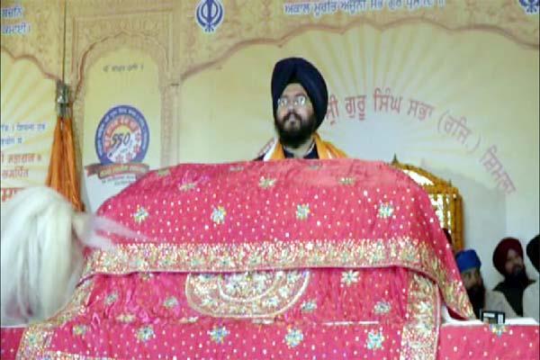 light festival of guru nanak dev
