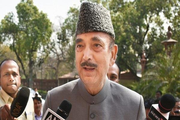 congress leader ghulam nabi azad visited kashmir known to the people