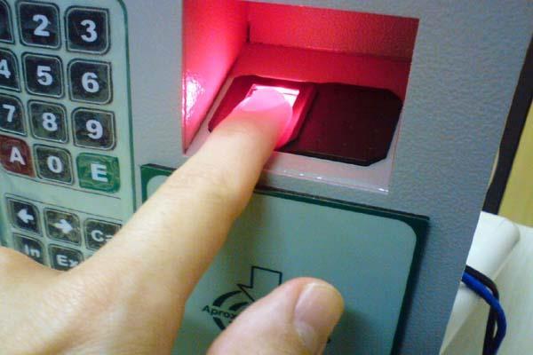 shimla biometric machine blind attendance no