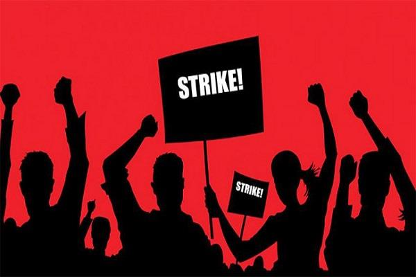 coal india employees strike today fears of production being affected