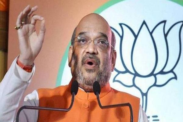 amit shah will go to assam next week for the meeting of north east council