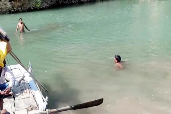 minor boy drown in satluj river