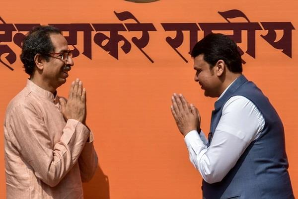 today the shiv sena bjp alliance may be announced