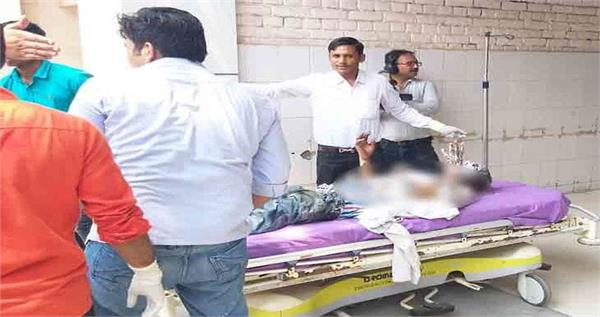 person trying to commit self immolation dies in pgi