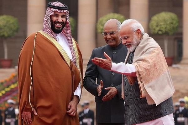saudi arabia is considering investing 100 billion dollars in india