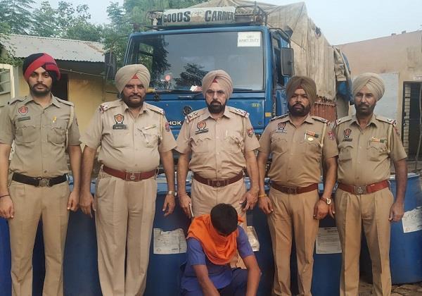 alcohol smuggler arrested