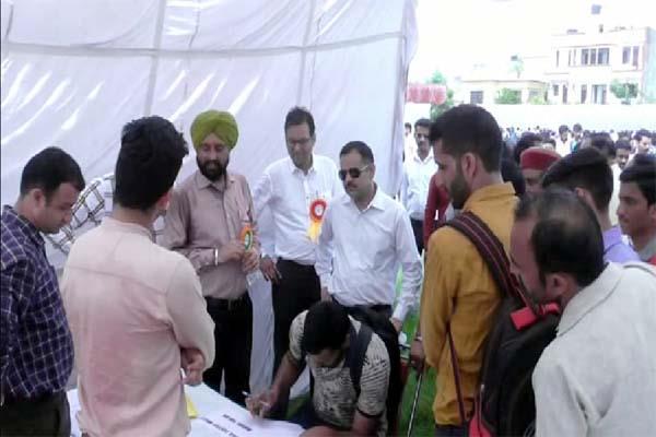 employment fair in baddi
