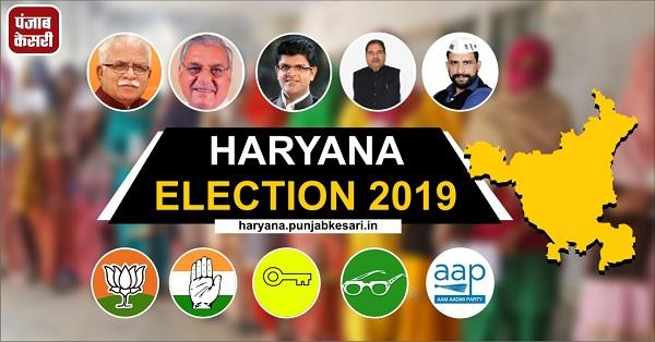 haryana election 10 nominations were filed on 7 assembly seats on first day