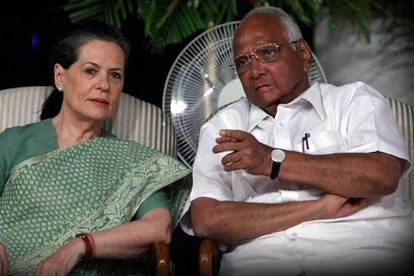 sharad pawar meets sonia gandhi discusses seat sharing