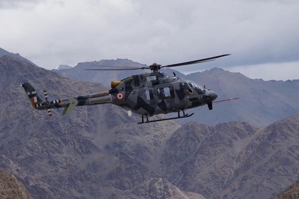 hal conducts successful operational test of light utility helicopter