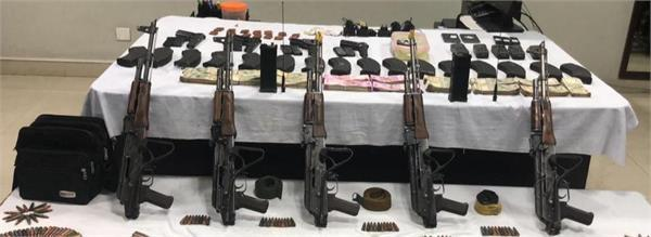4 terrorists arrested weapons