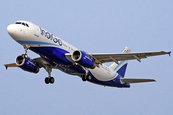 emergency landing of indigo aircraft coming from chandigarh in mumbai