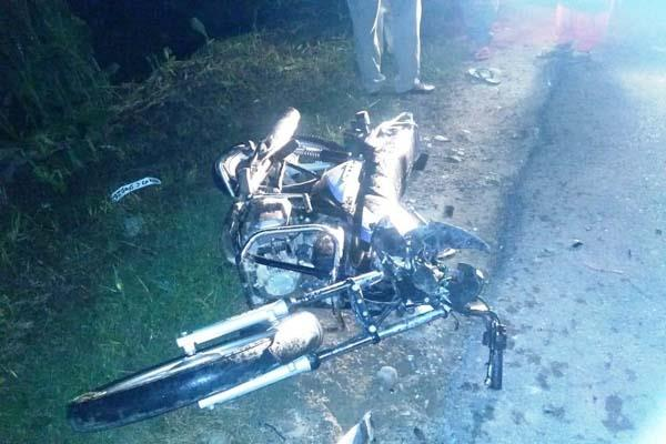 paonta sahib road accident yuvak death