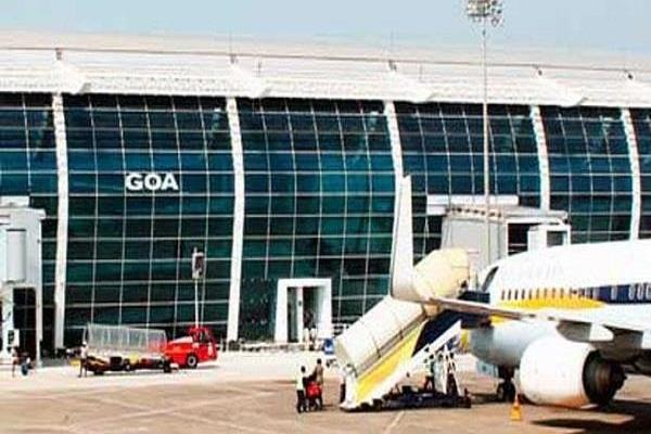 goa airport to be partially closed for repair of runway on saturday