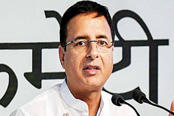 randeep surjewala again has a big responsibility in delhi