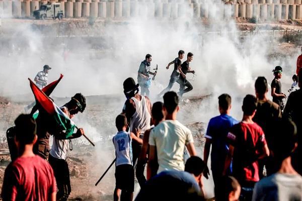israeli army fired in gaza