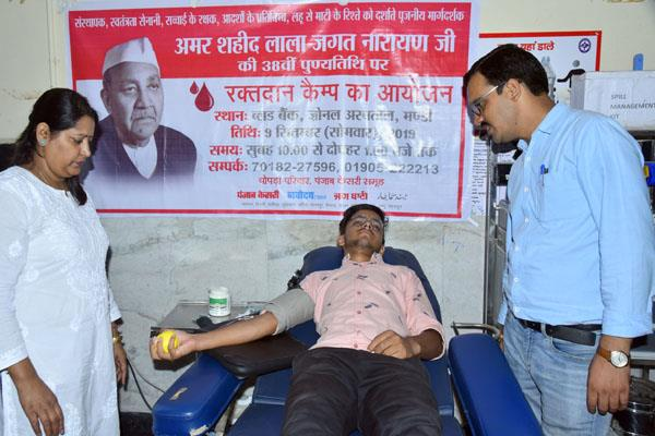 shimla himachal punjab kesari group blood donation camp events