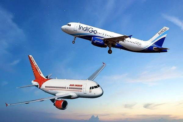 we still lead the way on international routes indigo at number two air india
