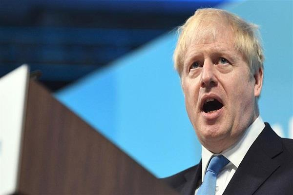 british prime minister boris johnson once again appealed to hold elections