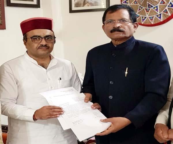 rajiv sehjal met from central minister shripad naik