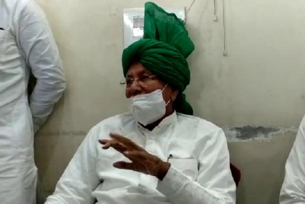 cm cannot enter village because he is afraid of beating him op chautala