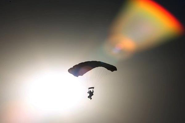 indian air force set new record in sky diving highest landing