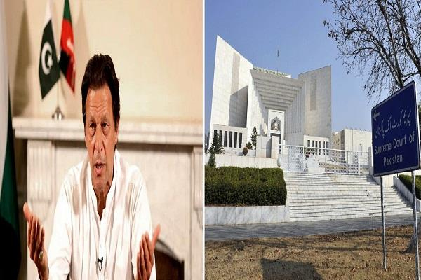 pakistan supreme court issues notice to pm imran khan know the reason