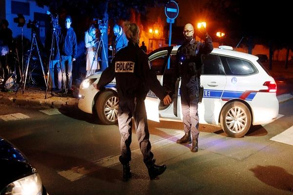 police shoot down suspect who beats teacher in france