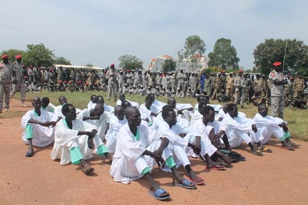 24 soldiers jailed in south sudan for rape and looting