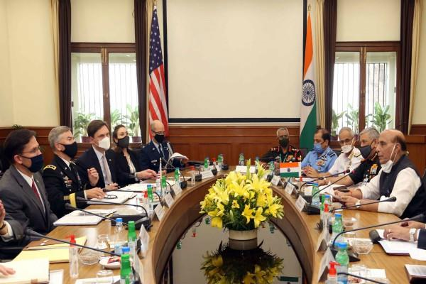 2 2 talks india us shared statement beca signed