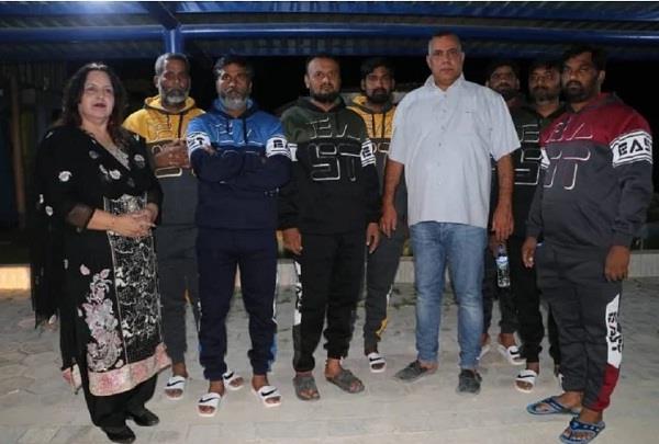 all 7 indians held hostage in libya released