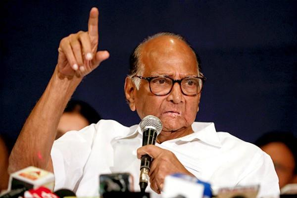 sharad pawar targets governor over writing letter to uddhav thackeray
