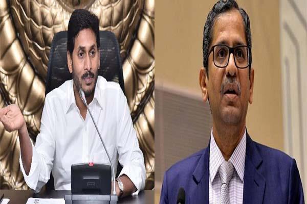justice ramna statement after cm jaganmohan reddy letter
