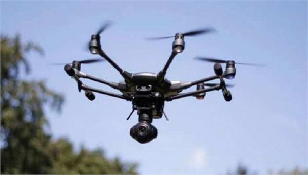 drone flying again on the indo pakistan border