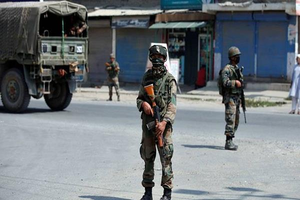 security forces killed a terrorist in anantnag