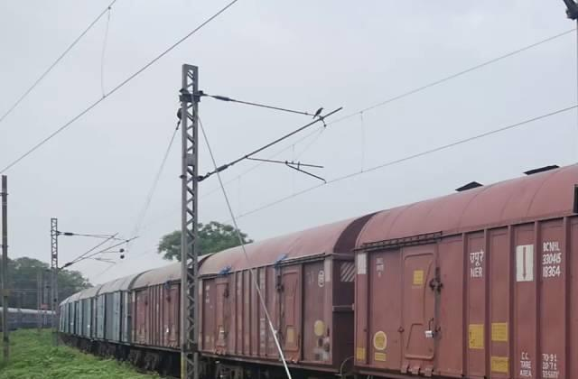 railways closed punjab new booking of goods trains