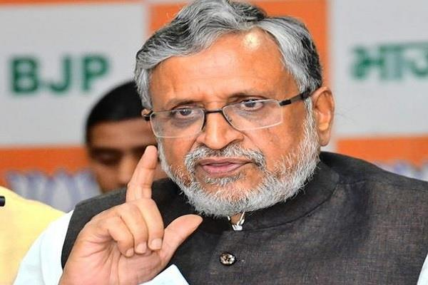 rjd adopting  kejriwal formula  to cheat votes sushil modi