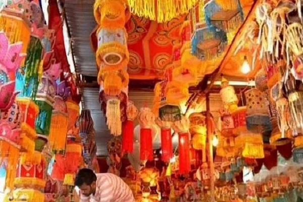 market on festivals start preparations for navratri dussehra and deepawali