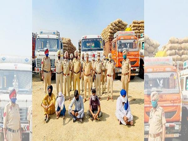 several traders booked for illegal paddy inflow