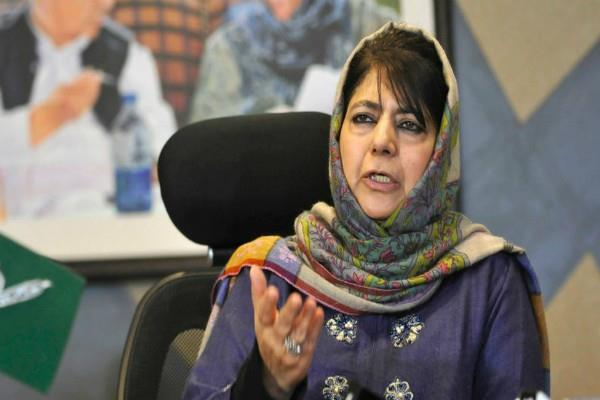 dark decision of the dark day there will be a struggle for 370 mehbooba
