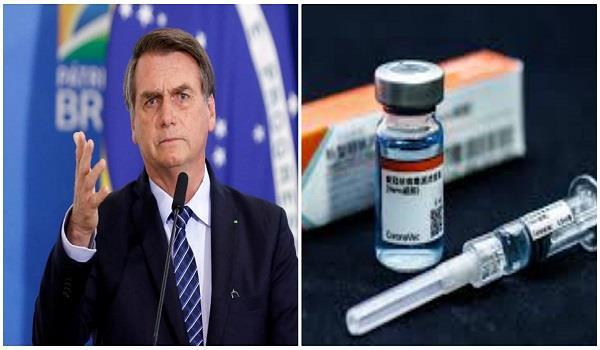 bolsonaro says brazil will not buy chinese made vaccine