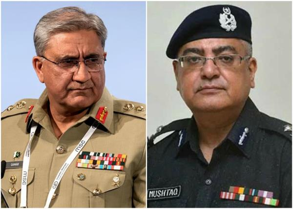 army vs police pakistani minister s hand behind ig s kidnapping in sindh