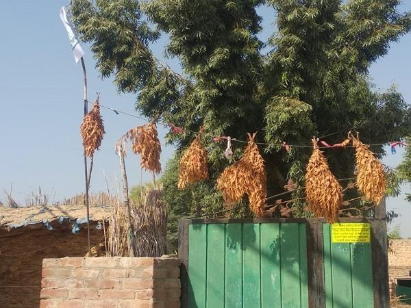 strict decision against  farming law  of this village of punjab