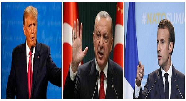 turkey s erdogan dares u s to impose sanctions insults france s macron