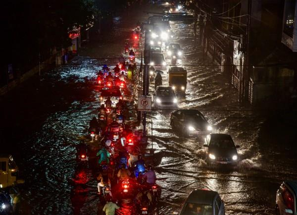 flood caused havoc in hyderabad