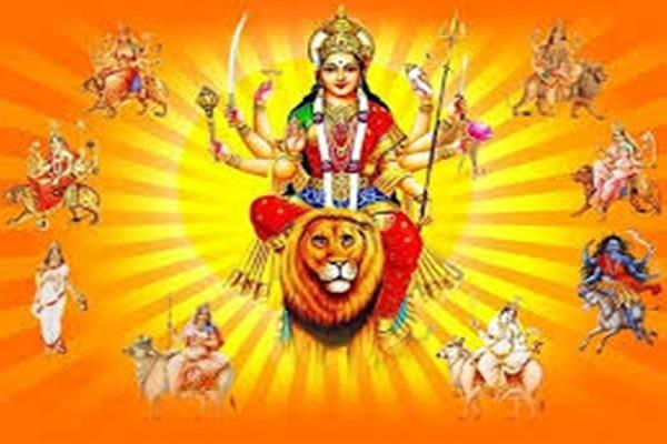 today on the first navratra the worship of rock daughter in small kashi temples